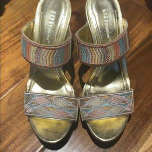 BCBG sandals worn twice